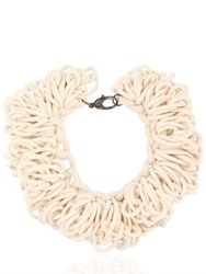 Alienina Looped Cotton Rope Necklace