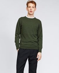 Aspesi Cashmere Roundneck Sweater Green
