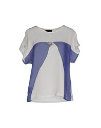 Emporio Armani Topwear T Shirts Women Light Grey