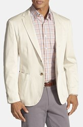 Men's Robert Talbott 'Fabiano California' Classic Fit Italian Cotton Sport Coat Khaki