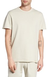 Reigning Champ Men's Raw Edge T Shirt Dust