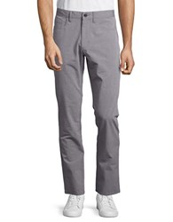 Kenneth Cole Slim Fit Cotton Pants Seagull Grey