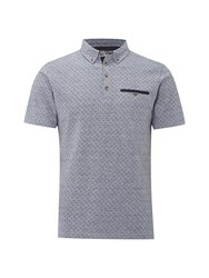 White Stuff Men's Radar Polo Blue