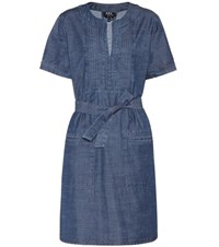 A.P.C. Cotton Dress Blue