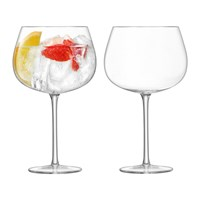 Lsa International Bar Cocktail Balloon Glass Set Of 2