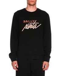 Bally Siesta Fleece Sweatshirt Black