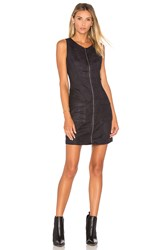 Bb Dakota Jack By Marceline Faux Suede Mini Dress Black