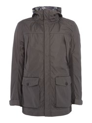 Duck And Cover Men's Journalist 4 In 1 Jacket Charcoal
