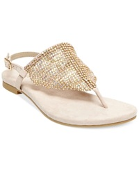 Madden Girl Madden Girl Sandie Rhinestone Hooded Flat Thong Sandals Women's Shoes