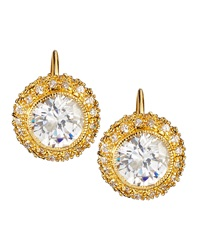 Freida Rothman Belargo Bezel Set Cz Earrings