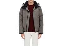 Canada Goose Men's Tech Herringbone Weave Coat Green