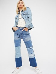 Levi's Levia Tms 517 Patched Boot Jeans By