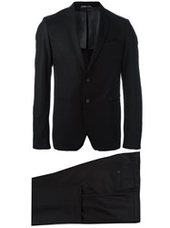 Hugo Boss Formal Two Piece Suit Black