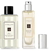 Jo Malone London English Oak And Hazelnut Cologne And Basil And Neroli Body Wash Set Colorless