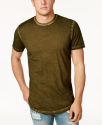 American Rag Men's Ombre Washed Elongated T Shirt Only At Macy's Moss Night