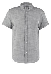 Kiomi Shirt Grey Melange Mottled Grey