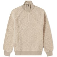 Harmony Sergio Half Zip Sweat Neutrals