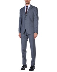 Luigi Bianchi Mantova Suits Grey