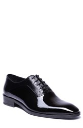 Jared Lang Jimmy Cap Toe Oxford Black Leather