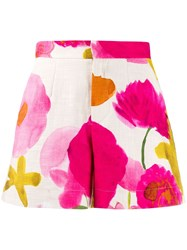 La Doublej Floral Fitted Shorts 60