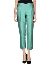 Antonio Fusco Trousers Casual Trousers Women Light Green