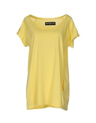Department 5 T Shirts Yellow