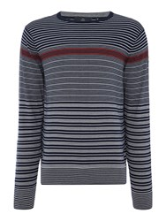 Duck And Cover Staysail Knitwear French Navy