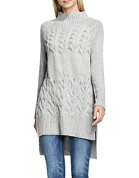 Vince Camuto Turtleneck Knit Pullover Grey