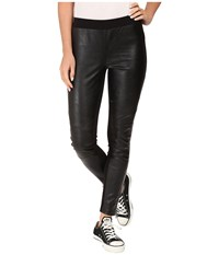 Converse Ponte Pu Leggings Black Women's Casual Pants