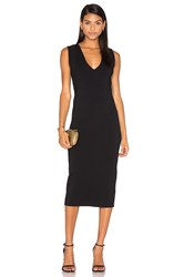 Ty Lr The Odessa Fitted Dress Black