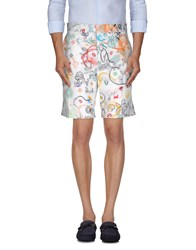 Basso And Brooke Trousers Bermuda Shorts Men White