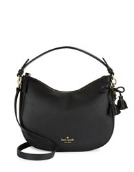 Kate Spade Hayes Street Small Aiden Leather Shoulder Bag Black