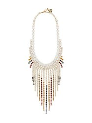 Rosantica By Michela Panero Sublime Crystal Embellished Necklace Multi