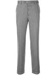 Brioni Straight Leg Chinos Grey