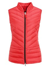 Bogner Fire And Ice Marea Waistcoat Red