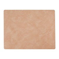 Lind Dna Table Mat Square Peach Large