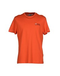 Lotto Topwear T Shirts Men Orange