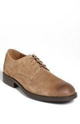 Hush Puppies 'Plane' Buck Shoe Taupe Suede