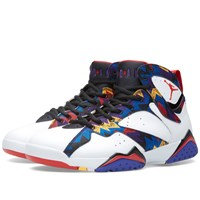 Nike Jordan Brand Nike Air Jordan Vii Retro 'Nothing But Net' White And University Red