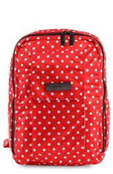 Ju Ju Be Infant 'Mini Onyx Collection' Backpack Red