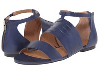 Corso Como Sprint Cobalt Leather Women's Sandals Blue