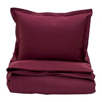 Gant Sateen Duvet Cover Purple Fig Super King