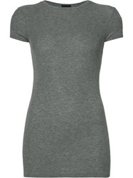 Atm Anthony Thomas Melillo Round Neck T Shirt Grey