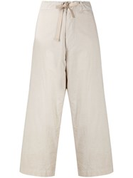 Y's Lightweight Cropped Trousers 60