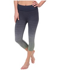 Brooks Pureproject Seamless Ombre Capri Midnight Sage Women's Capri Gray