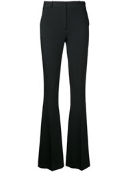 Capucci Flared Fitted Trousers Black