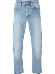 Our Legacy Light Wash Jeans Blue