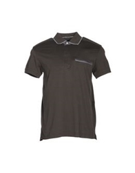 Zegna Sport Polo Shirts Brown