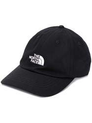 The North Face Embroidered Logo Baseball Cap Black