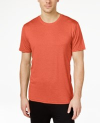 32 Degrees By Weatherproof Crew Neck T Shirt Spice Orange Heather